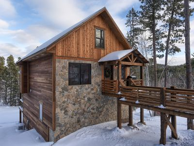 Photo for Best Deadwood Location - Skiing - Hot Tub & Access To Heated Swimming Pool