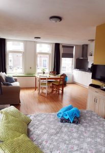 Photo for Nice Canal View Corner Apartment in the Heart of Amsterdam