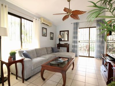 Photo for Bamboo Gardens #2 - Two bedroom condo with large pool and tropical garden