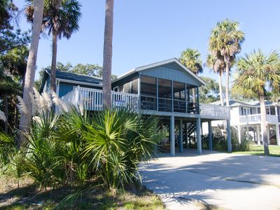 Photo for Pompano Crab Inn - Well Maintained Beach Walk Home - 4BR/2BA