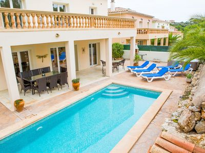 Photo for Villa Maria - Luxury Villa With Private Pool, UK TV & High Speed Wi-Fi