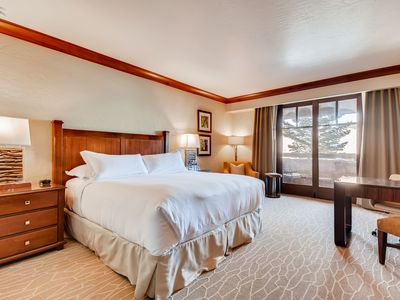 Photo for Professionally Cleaned Ski-in/out Luxury King Suite in Ritz Carlton BG