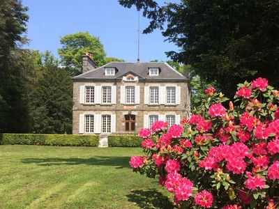 Photo for La Quieze petit château Normandy - luxury country house on 10 acres activities