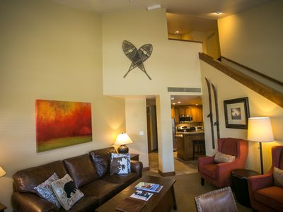 Photo for Two Bedroom Condo in the Heart of Canyons Village
