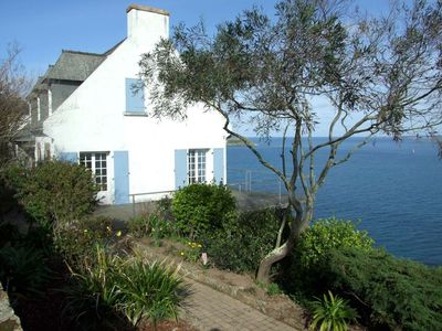 Photo for house with stunning sea views (direct access), 100 m from the beach