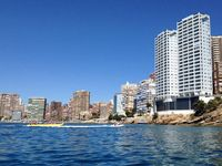 great place to stay great view of Benidorm only problem would be when you have had a few drinks at