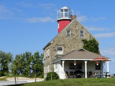 Photo for Historic 1838 Salmon River Lighthouse - Monthly Open Houses Now Available!