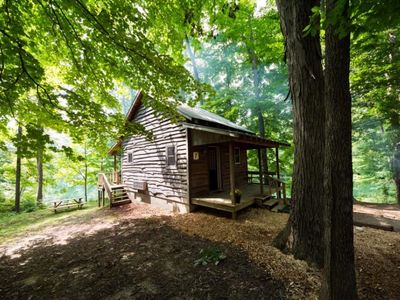 Photo for Cabin #7, Small Rustic Cabin In Brown County Indiana