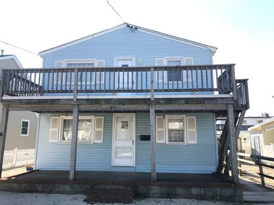 Front View. This rental is for the upper portion of the duplex