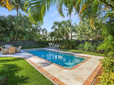 Photo for Sophisticated Pool Villa Steps to the Intracoastal