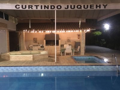 "Photo for Sobradinho in ""Curtindo Juqüehy"" with jacuzzi, swimming pools and grills"