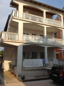Photo for STUDIO APARTMENT WITH BALCONY AT THE ADRIATIC SEA AND 15 MIN FROM ZADAR CITY