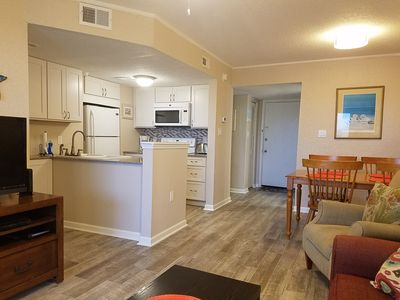 Photo for Sand Dollar Villas Unit 311 is a fully equipped beachfront condo