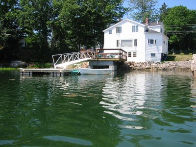 Waterfront House with Private Dock