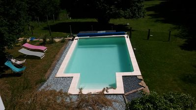 Photo for independent house with pool and animals