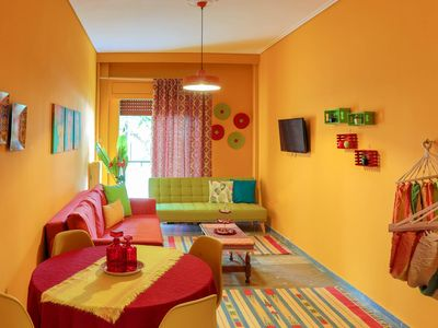 Photo for Mexican Style Apartment in Volos Center!