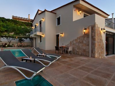 Photo for Villa Eve, Next to the Temple of Poseidon, Private Pool Next to the Beach.