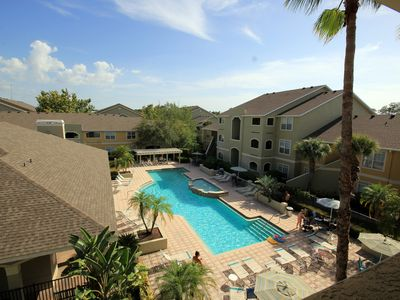 Photo for New: Pool View In Avalon at Clearwater, recently renovated! FREE PARKING