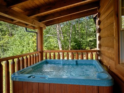 Photo for Luxury 2 Bedroom Pigeon Forge Cabin Just Steps to Indoor Pool