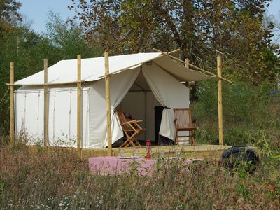 Photo for Glamping St. Louis-Paddler's Rest