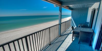 Photo for Gulf Front Condo with May Availability! at Gulf Place 2A:  3 BR / 2 BA