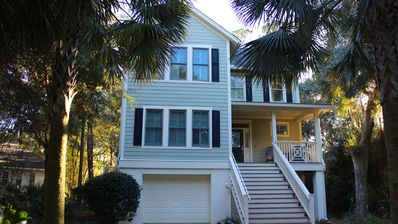 Photo for Beautiful Charleston-Style Home! Lake Views! Sleeps 8! Bike to Lake House/Tennis