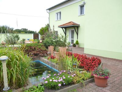 Photo for Apartment in the countryside, with pool, directly between Leipzig and the Dübener Heide