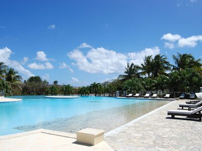 Photo for Large studio (former plantation Ste Marthe), pool, terrace and WIFI rum