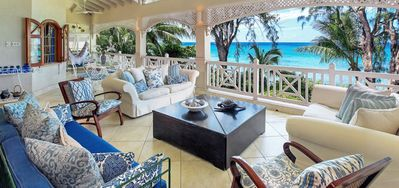 Photo for Villa La Paloma  -  Beach Front - Located in  Exquisite Saint James with Private Pool