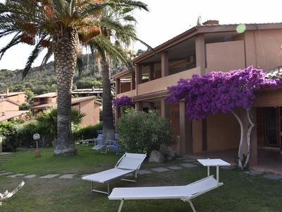 Photo for Villetta Marina just 500 meters from the beautiful sea of Costa Rei,