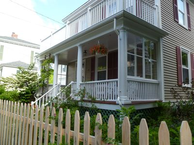Photo for Open, Airy, Vintage Charm in this Intown Gem. Minutes Walk - Shore, Shop, Eats!