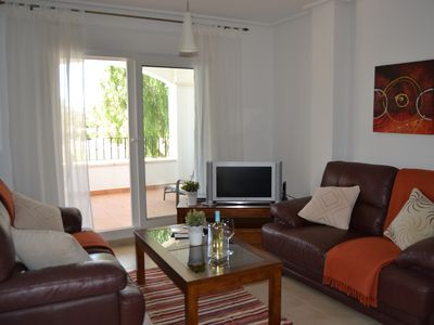 Photo for Beautiful Frontline Apartment at La Torre Golf Resort