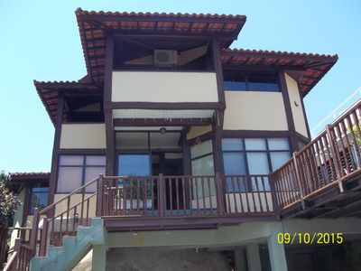 Photo for House w / 4 suites, pool, deck / terrace, sea view, near the Village / Yacht Club