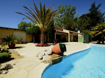 Photo for villa with pool classified 3 stars official site of tourist accommodation