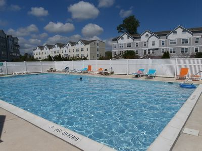 Photo for Luxurious 4BR Townhome w/ Game Room Community Pool Minutes from Beach