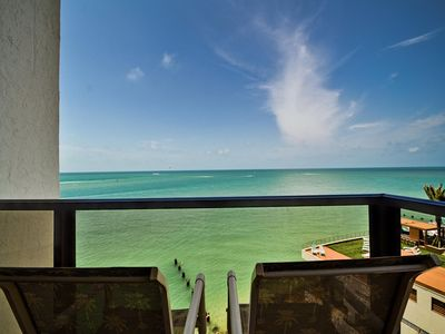 Come enjoy the view of the bay from the balcony.