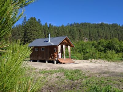 Photo for Tiny Cabin for 2 located in a Beautiful Quiet setting
