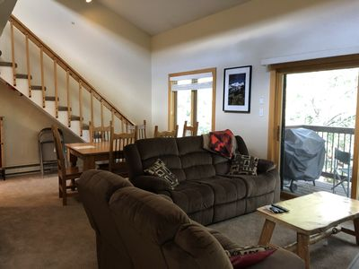 Photo for 3BR, 2BA Condo, Sleeps 10!  Short Walk to Peak 9 & Downtown!