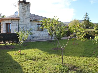Photo for A chalet with a garden in the middle of nature
