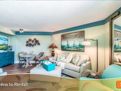 Photo for UP TO 25% OFF Summer Rates! Brand New to Rental. Family Friendly Oceanfront Resort!