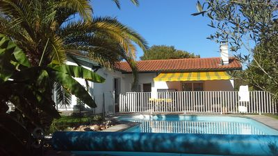 Photo for Comfortable villa with private heated pool near Biarritz
