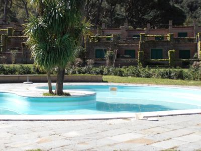 Photo for Apartment in resort with pool and tennis court - Casa Vacanze Bagnaia
