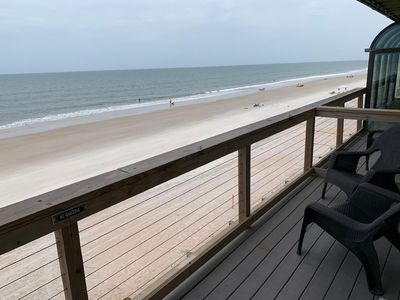 Photo for September Special!!!  Oceanfront Townhome on Vilano Beach