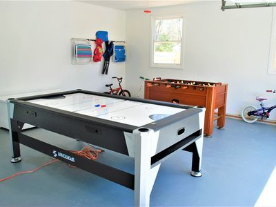 Foos Ball Table And A Combo Pool, Ping Pong And