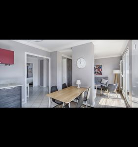 Photo for Annecy center for 4 people with closed garage, south terrace, classified 3 ***