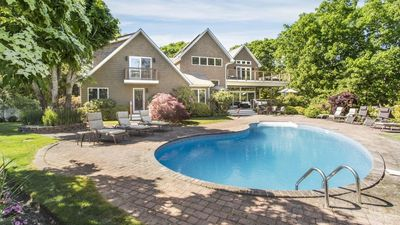 Photo for New Listing: Private Gated Home Near Town & Beach w/Heated Pool, Fire Pit, Home Theater