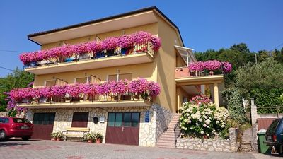 Photo for Holiday apartment with terrace near the sea
