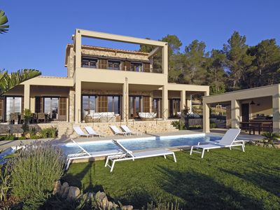 Photo for New light-filled dream house with panoramic views of the Tramuntana Mountains