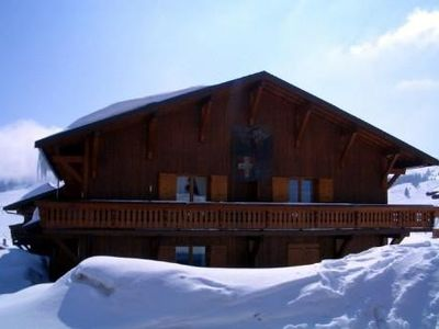 Photo for Les Saisies apartment in the chalet Les Gold Medals.
