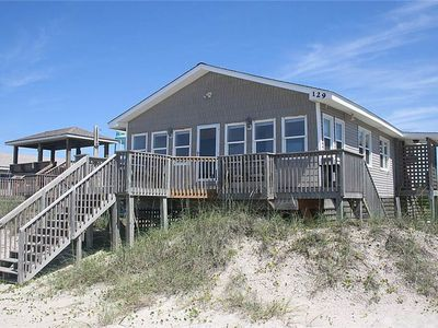 Photo for Aloha: 3 Bed/2 Bath Oceanfront Beach Cottage with Knotty Pine Interior